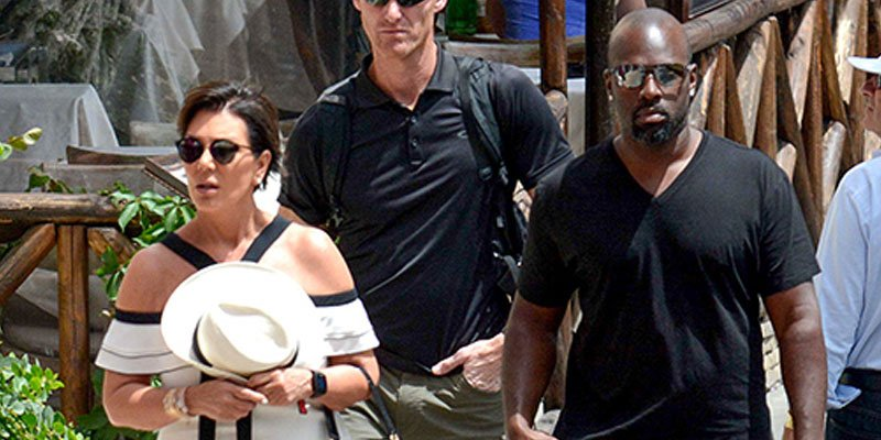 Kris Jenner and boyfriend Corey Gamble tour the sights during European getaway in Capri