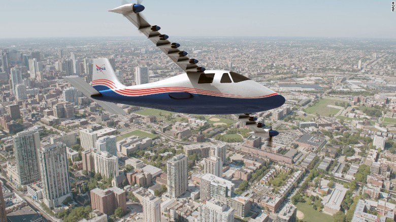 A NASA experiment is underway that could upend the aviation industry: An electric plane.