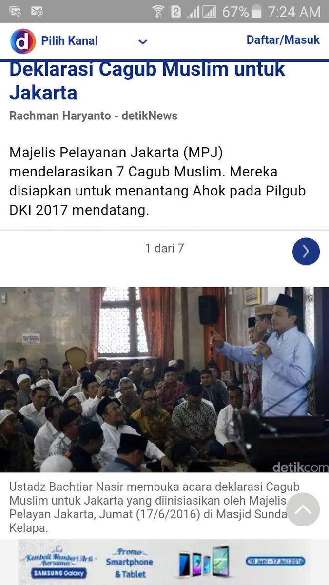 "Nggak elok mendeklarasikan cagub di masjid. Masjid sebaiknya jangan dikotori dg ""politik praktis"". https://t.co/KPBuHP3Vjw"