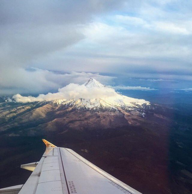 Views over Oregon ✈️