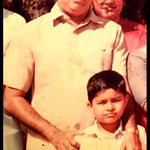 My hero My father passed away 20 years back in 1995. I was 12 at tat time. Lov u miss you nana #HappyFathersDay https://t.co/UEi4w6RV83