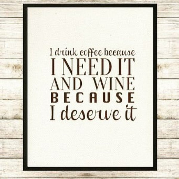 test Twitter Media - I drink #coffee because I need it and #Wine Because I deserve it! What do you think #WineLovers? Send #wineselfies https://t.co/gOkxFgpbrA