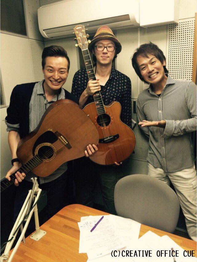 本日22:00〜、HBCラジオ『森崎博之のジャンジャンジャンプ!』にミツヒコと二人で出演します!  よろしくー(^^) https://t.co/3JdwIX7jyz