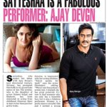 RT @sayyeshaa: Thank you @ajaydevgn sir! I had the most enriching experience being directed by you! Lots of love! ❤️ https://t.co/AVpyYxCi9X