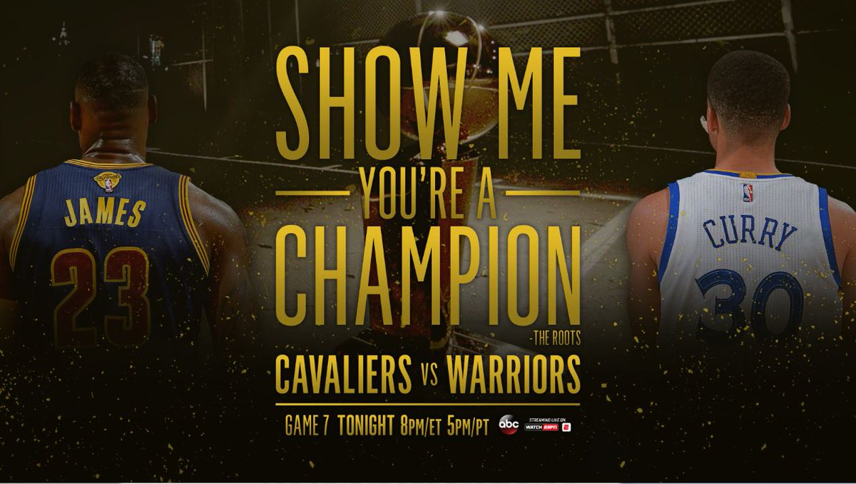Cavaliers vs warriors game 7 predictions - It S Game Day Who Takes Home The Trophy Warriors Or Cavs Nbafinals