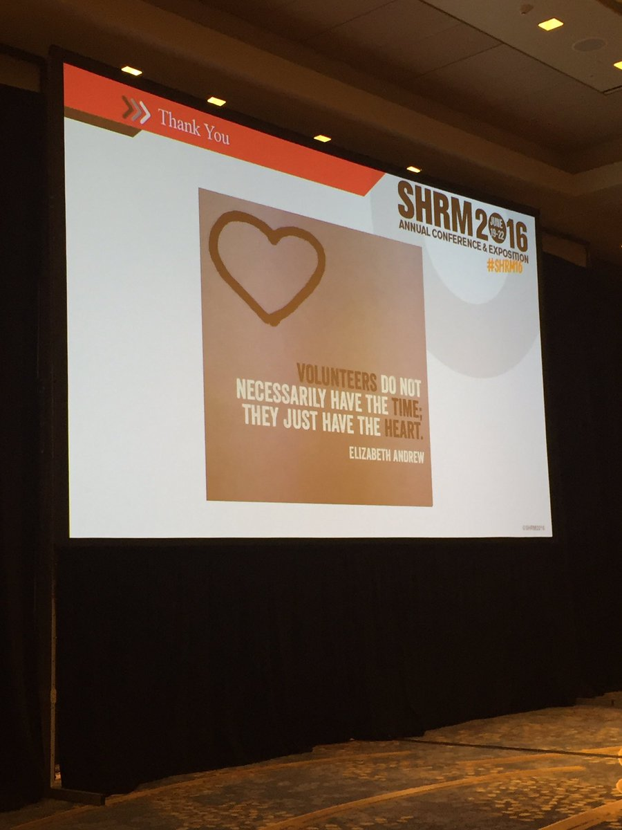 The heart of #SHRM #fact #SHRM16 #HR https://t.co/sK1wAJRs1R