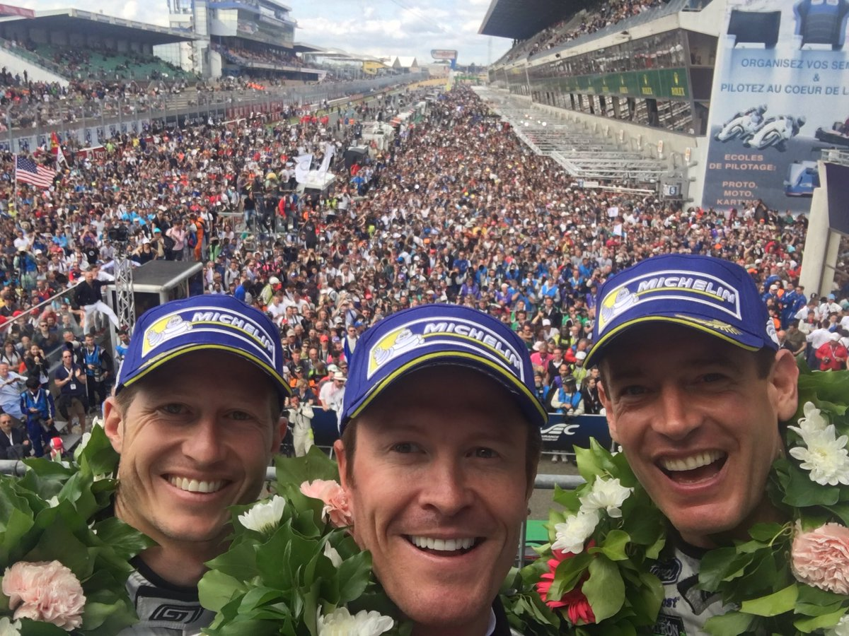 What an experience. Big thank u to everyone @CGRTeams and @FordPerformance for such a special experience! #LeMans24 https://t.co/NSw1ViGdT0