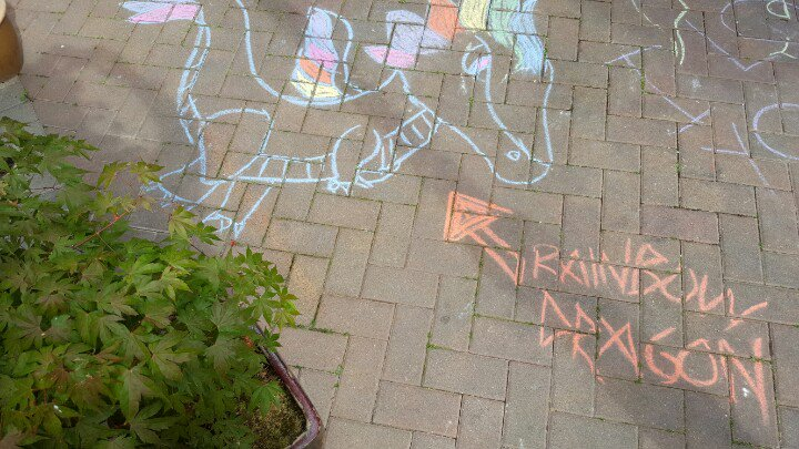 Happy Father's Day to all of the great dads out there!!   #chalkart #yyj #FathersDay #DragonAlley https://t.co/SxQjKMQQQS