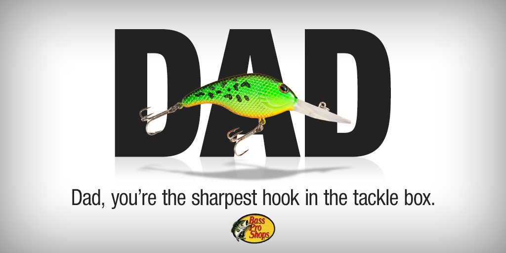 Celebrate the best Dads today with one of our eCards. Retweet to win a $100 Bass Pro gift card! #FathersDay https://t.co/X3eGsjAwYt