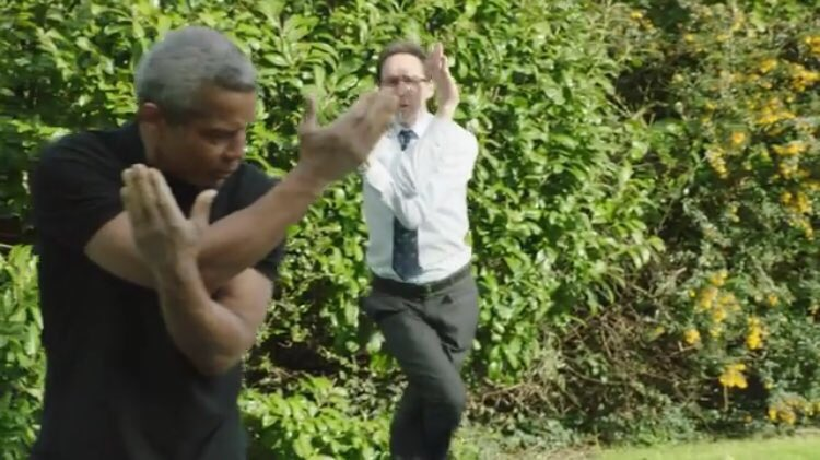 Can we all just take the time to appreciate this fantastic picture. (From the Summer trailer) #holby