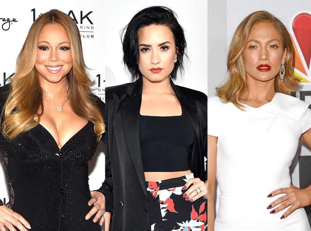 Stone. Cold. Did Demi Lovato just diss Mariah Carey?