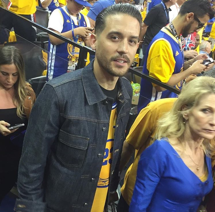 Our boy @g_eazy is in the building tonight!!! #DubNation #Game7 #NBAFinals @OracleArena https://t.co/3f1miOc3Wx