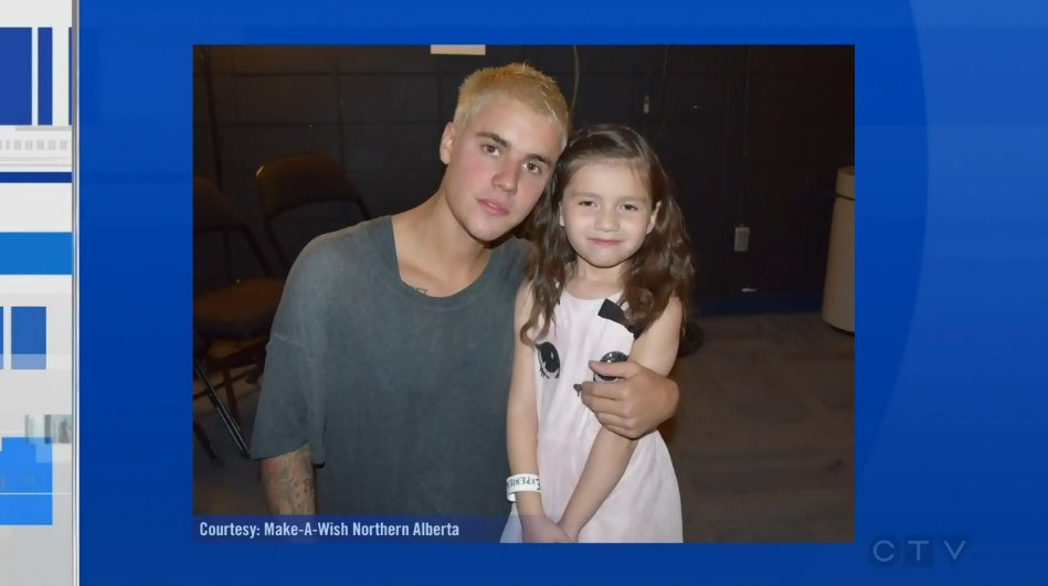 This #yeg girl was granted her wish to meet @justinbieber. Our @BreannaCTV has more. https://t.co/yhRcr7oAWi https://t.co/e2f2yMnCrk