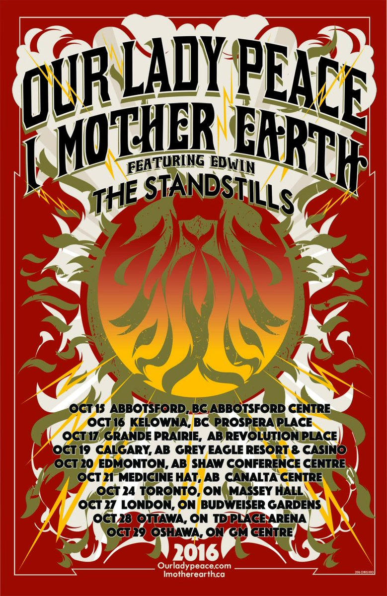 So happy to be hitting the road with @IMotherEarth and @TheStandstills this fall! Tix on sale this friday! #OLPxIME https://t.co/AiIhgNv6KA