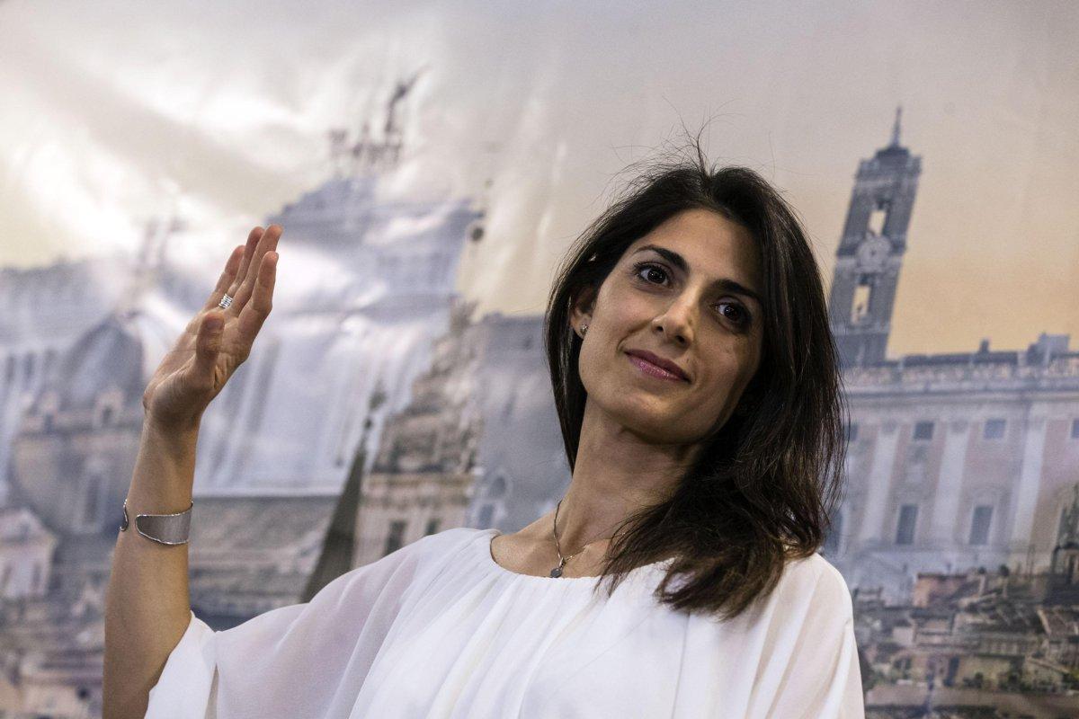 virginia raggi sindaco roma