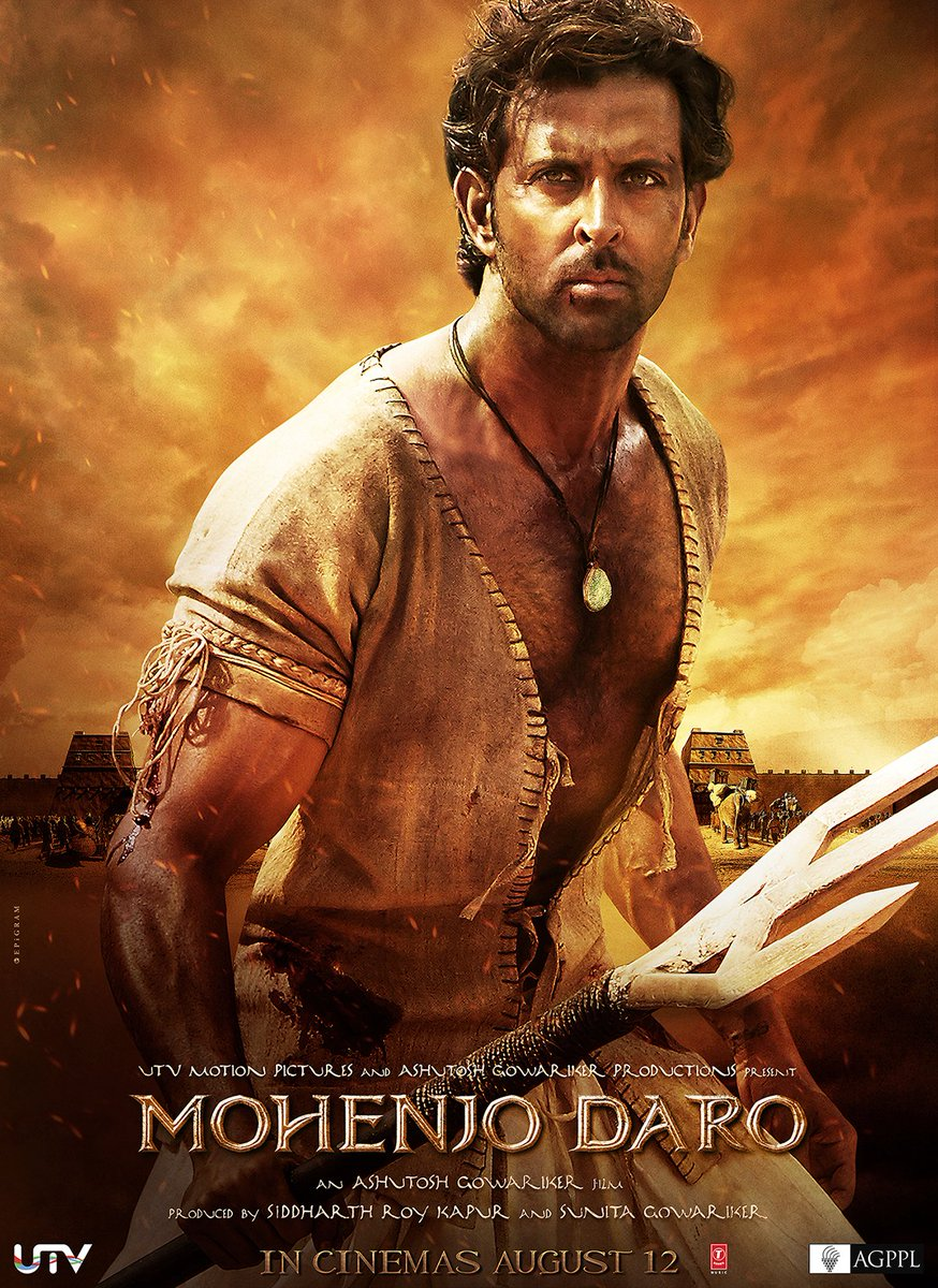 Get ready to enter the world of #MohenjoDaro! Trailer out tonight at 8:57 PM on the @StarTVNetwork! https://t.co/om7njXbucF