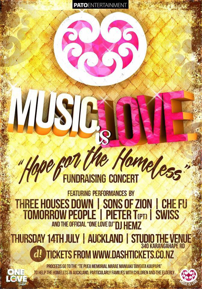 All proceeds go to Te Puea Marae in aid of our homeless community. Copp tix here: https://t.co/LTH6YTp58d https://t.co/6QqfmjJtLk