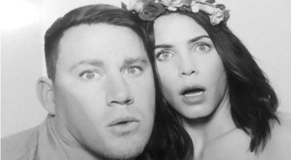 Channing Tatum and Jenna Dewan-Tatum continue to Step Up their cuteness game: