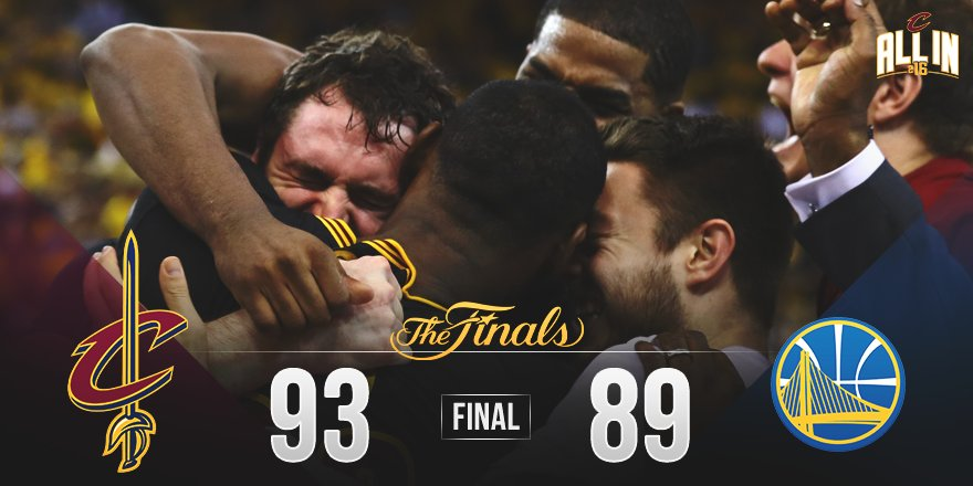 Believe it, Cleveland. #OneForTheLand https://t.co/mA7F5G9hV2