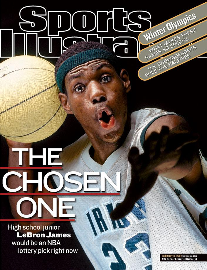 I remember like 14 yrs ago when there was this baby-faced kid on the cover of @sportsillustrated named Lebron James. https://t.co/7nnc69dOE9