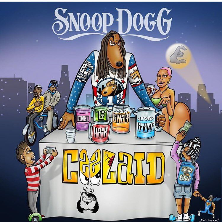 Pre Order NOW da west coast homie @SNOOPDOGG #CoolAid hits the streets July 1st! https://t.co/iRQjP5OCUs