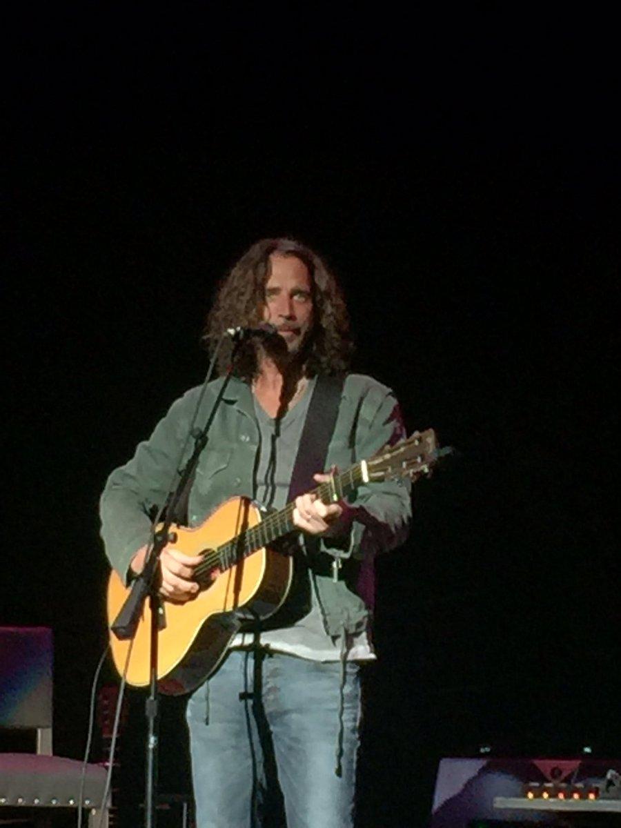 Chris Cornell - North Charleston Coliseum and PAC - North Charleston ...
