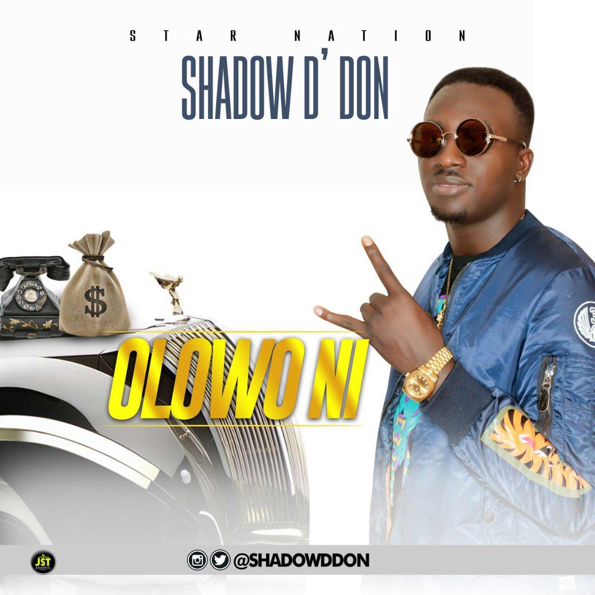 New single (Shadow D'don - Olowo Ni) follow on snapchat/ Instagram @shadowddon. https://t.co/EPlIrjV6Uj https://t.co/Ph8mCXLX3D
