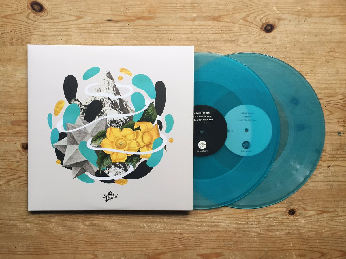 So excited to finally see one of these! My first time having songs on vinyl and doing design for vinyl. Very happy! https://t.co/M8iJfkcWjZ