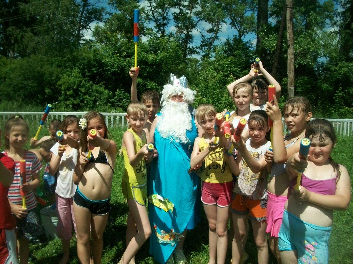 Сценарий мероприятия день нептуна в лагере