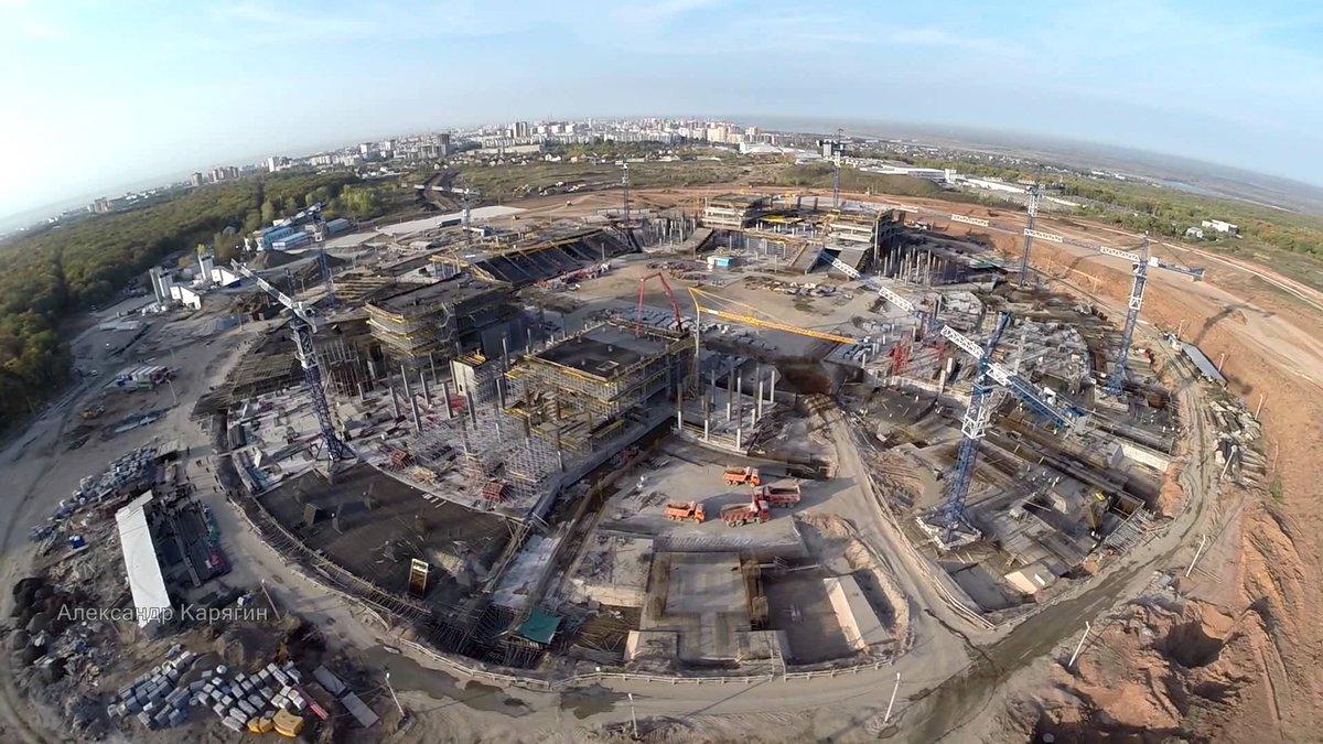 Строительство Стадиона В Самаре К Чемпионату Мира 2018 Видео Часть 38