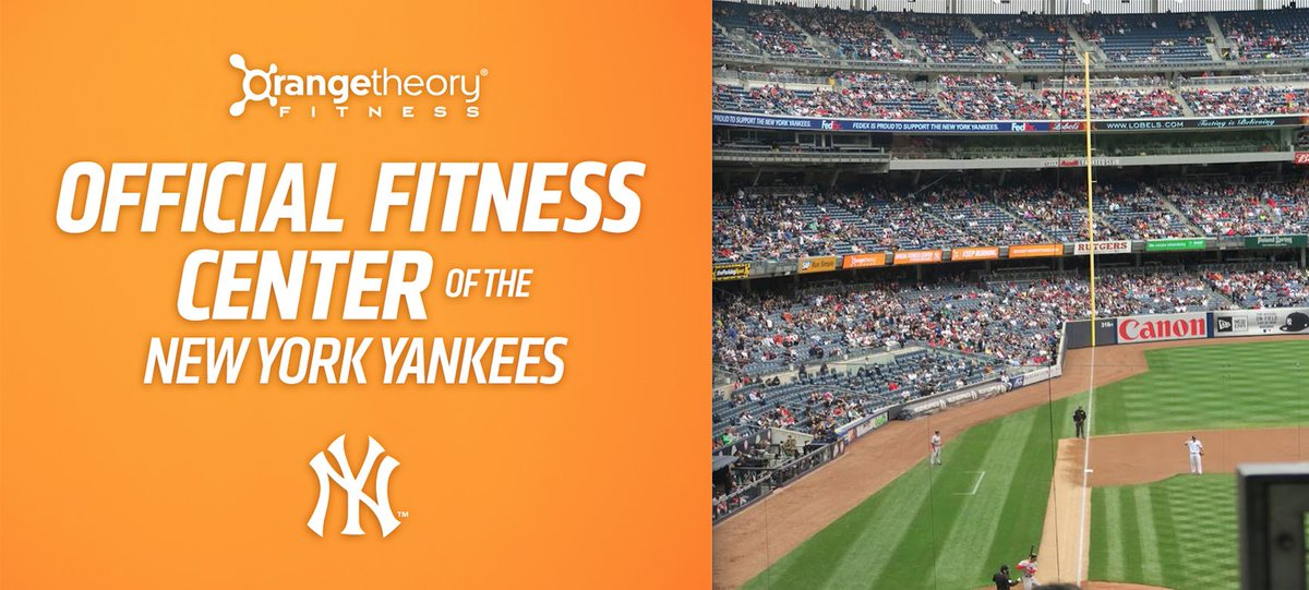 Proud to announce our partnership as the official fitness center of the NY @Yankees! #KeepBurning #LetsGoYankees https://t.co/Sn43sUehm9