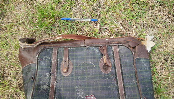 Luggage washes up on same beach as suspected MH370 parts @AlexSmithNBC reports