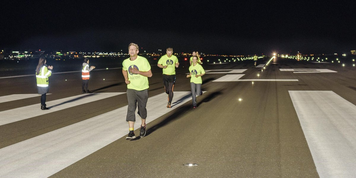 RT @yourHeathrow: Heathrow Runway Midnight Marathon raises over £40,000 for charity: