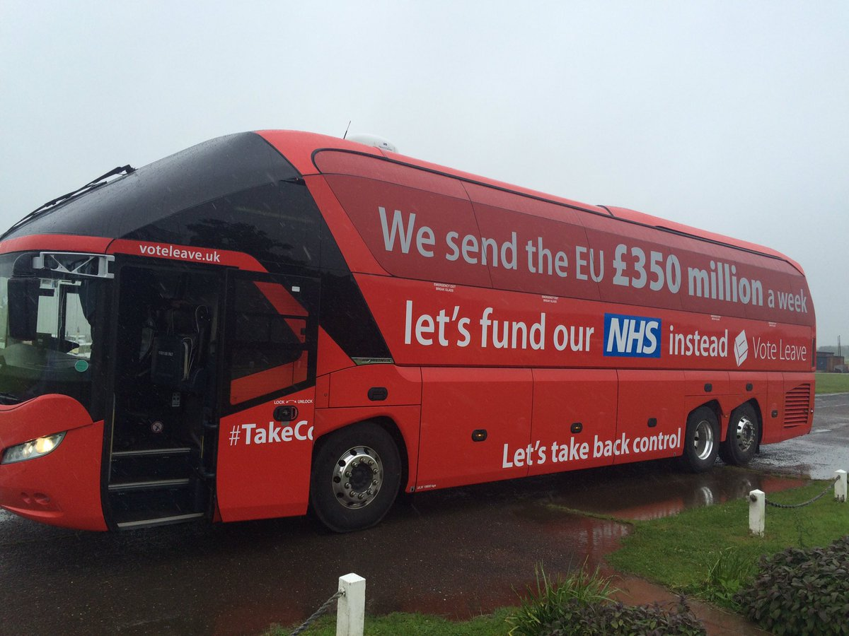 Most annoying thing about this campaign? Use of NHS logo by people who have undermined it. They are frauds. #Remain https://t.co/35RamtGyOk