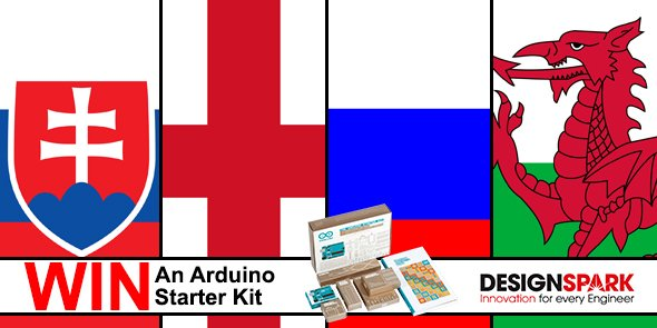 Correctly predict tonight's #EURO2016 full time scores to #WIN an @Arduino starter kit #SVK v #ENG & #RUS v #WAL 8pm https://t.co/vBny0sTWQ4