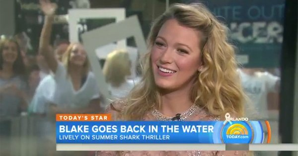 Blake Lively jokes she and Ryan Reynolds are