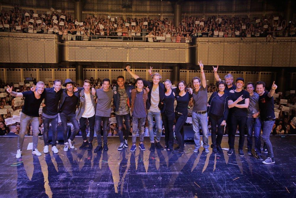 Trots op de boys @TweetMainStreet en de hele MainStreet crew! Na 5 succesvolle jaren gisteravond de laatste show! https://t.co/YvDEQctuXA