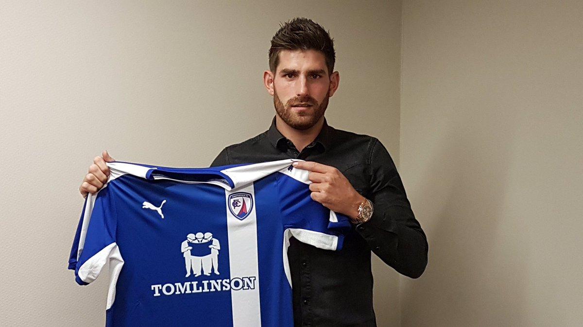 Spireites sign striker Evans. Details here: https://t.co/4kDWk49jvL https://t.co/ijQdgLeHpT