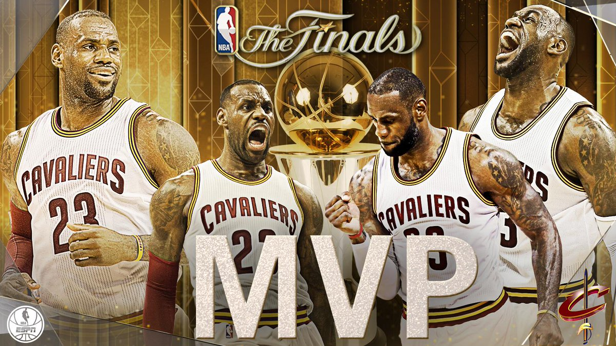 LeBron James Added To His Legacy Last Night With 3rd Finals MVP Trophy