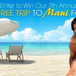 Win a 5 night trip on the ocean in #Maui w/airfare for 2! #Travel https://t.co/rRTvw8CXaQ https://t.co/mRfxo4KSpr