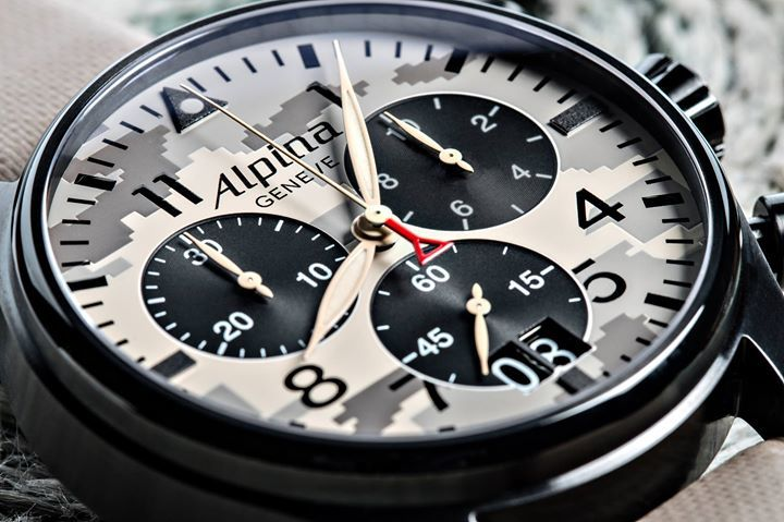 Highest precision of a pilot watch and an attractive military camouflage design. Let us introduce you to the Alpina… https://t.co/hmIotEG9XB