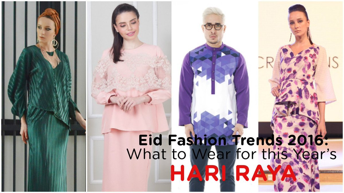 We've rounded-up the hottest Hari Raya styles to snap up this year: