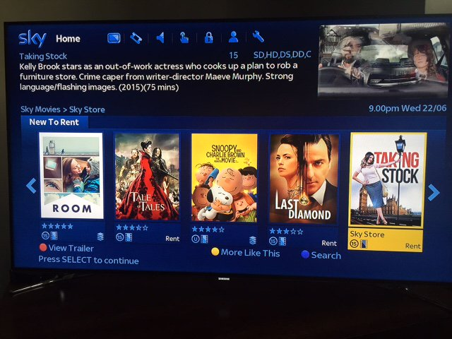 RT @JunichiKajioka: Lovely news! British film Taking Stock which I acted in with talented actress @IAMKELLYBROOK is now on sky store VOD ht…