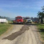 Incendie à Bouctouche : pas encore dévacuation selon la GRC mais des maisons proches sont prêtes #icinb https://t.co/UdICMSijqZ