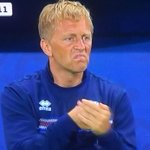 Englands manager is paid $4.6 million a year.   Icelands manager is a part-time dentist.   (Credit: @DVNJr) https://t.co/zxGwZOItdG