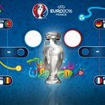The quarter-final lineup is complete! Bring on Thursday! #EURO2016 https://t.co/TP5vIMq4hj