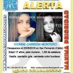#Colabora Ivonne es una #menor que ha #desaparecido en San Fernando #Cádiz  Si la ves llámanos 📞062 📞112 Dale RT https://t.co/MujoZdVFTA
