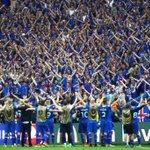 A Islândia elimina a Inglaterra na Euro. Com só 330mil habitantes,futebol não é só dinheiro e fama,mas raça e amor https://t.co/H1mJTZUC7G