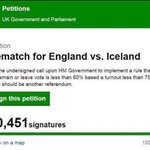 Sign the petition ! They did not know they would be kicked out of the tournament if they lost #EnglandVsIceland https://t.co/p6gydCFPDU