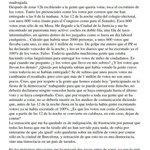 España. Elecciones. Fraude Electoral. Ruth Bermudez Rodríguez presidenta de mesa habla de fraude.@Anonymous_UE ????Qué? https://t.co/ZrTHXNcOSz